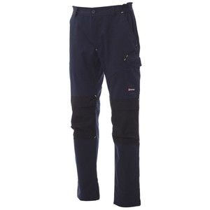 Worker Tech Payper Pantalone unisex multistagione con ginocchiere 65% poliestere 35% cotone 265gr Thumbnail